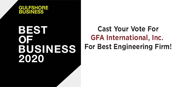 Please Vote For GFA For Best Engineering Firm!